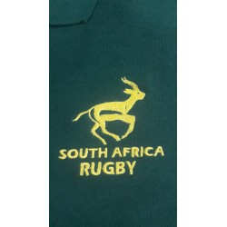 Polo piqué South Africa Rugby m/l