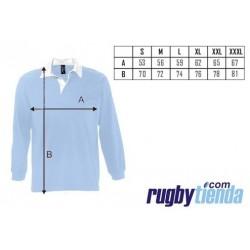 Polo clásico New Zealand rugby