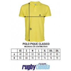 Polo piqué Wales Rugby
