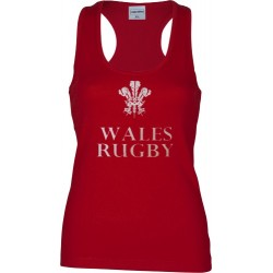 T-shirt ligas Wales woman