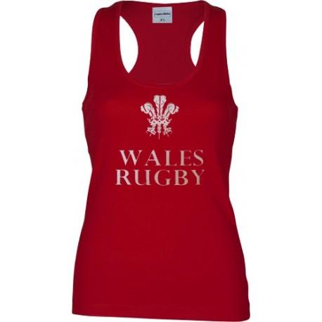 Camiseta Wales Woman tirantes