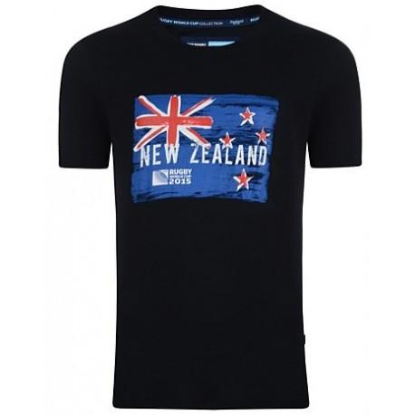 Camiseta algodón de Nueva Zelanda RWC 2015