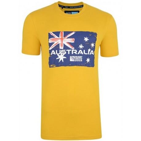 Camisola algodão da Australia RWC 2015