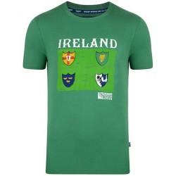 Samarreta de cotó Irlanda RWC 2015