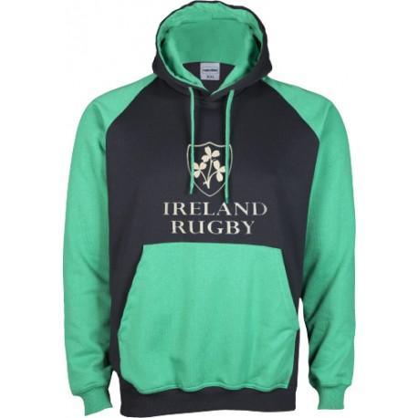 Dessuadora caputxa Ireland Rugby II