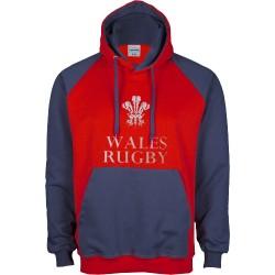 Dessuadora caputxa Wales Rugby II