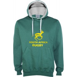 Suéter capuz South Africa Rugby