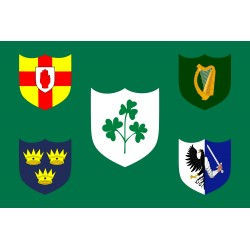 Bandera de Irlanda (IRFU)