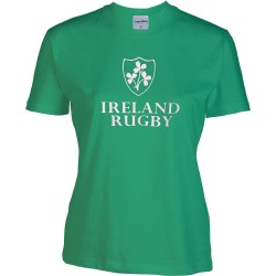 T-shirt Mulher Ireland Rugby