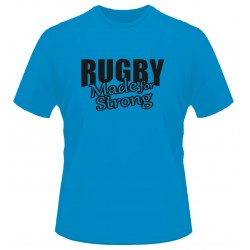 T-shirt Italy Rugby Made for strong