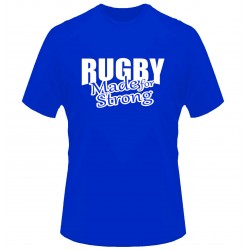 Camiseta France Rugby Made for strong
