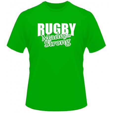 Camiseta Ireland Rugby Made for strong