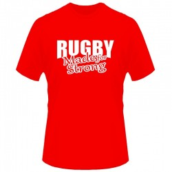 T-shirt menino Wales Rugby Made for strong