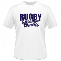 T-shirt menino Scotland Rugby Made for strong