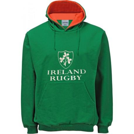 Suéter capuz Ireland Rugby