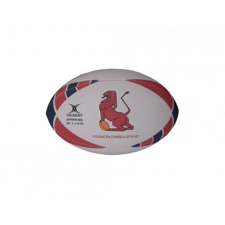 Balón mini de la Selección Española de rugby