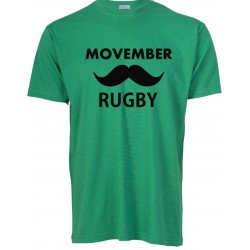T-shirt Movember Rugby