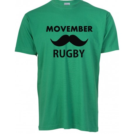 Camiseta Movember Rugby
