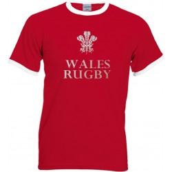 T-shirt Wales Rugby