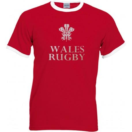 Samarreta Wales Rugby