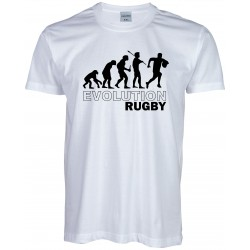 T-shirt Evolution Rugby
