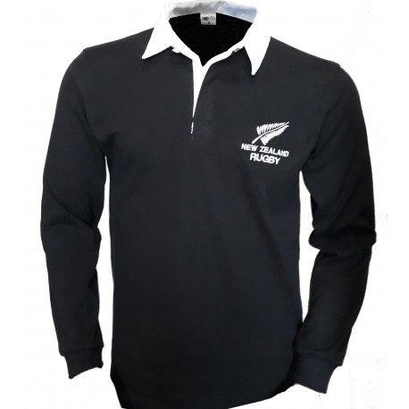 Polo clásico New Zealand rugby
