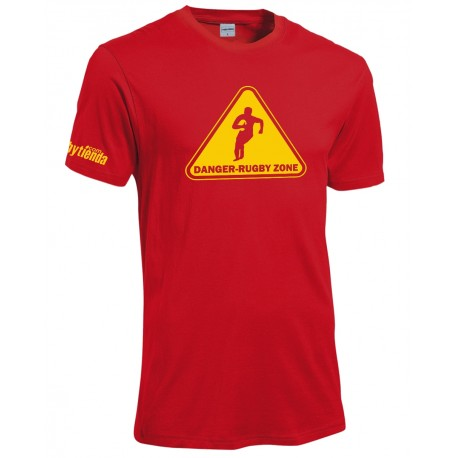 T-shirtt Danger Rugby Zone