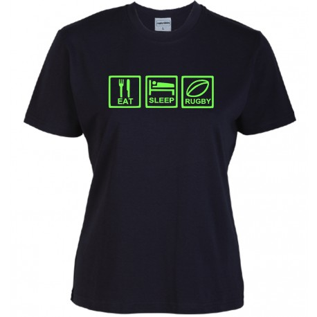 T-shirt Eat Sleep Rugby