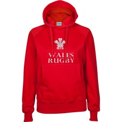 Suéter capuz mulher Wales Rugby