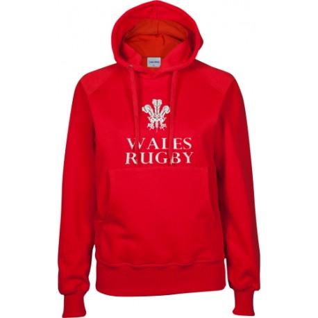 Sudadera Capucha Mujer Wales Rugby