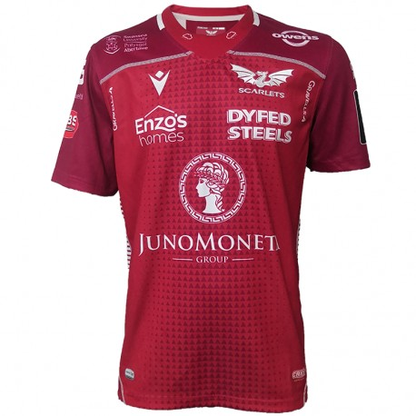 Camiseta de los Scarlets