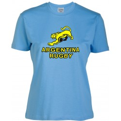 T-shirt Mulher Argentina Rugby