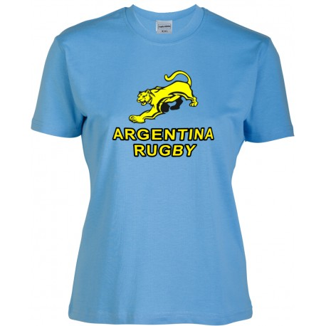 Camiseta Mujer Argentina Rugby