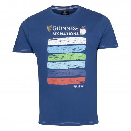 Camiseta manga curta 6 Nations
