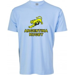 T-shirt menino Argentina Rugby