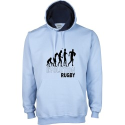 Sudadera Capucha Evolution Rugby