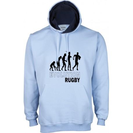 Dessuadora caputxa Evolution Rugby