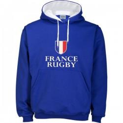 Suéter capuz France Rugby